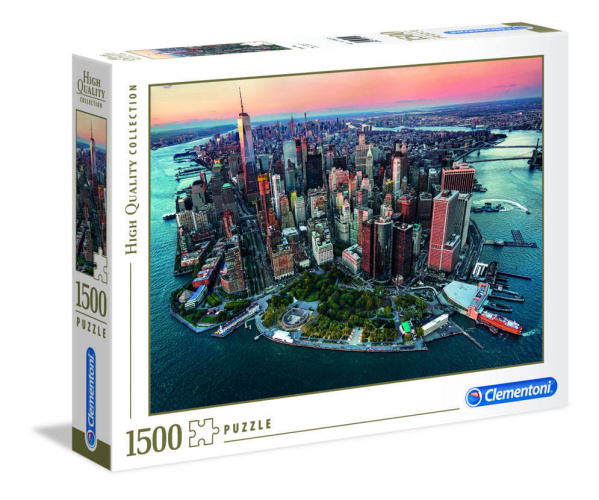 Clementoni 31810 New York 1500 Teile Puzzle High Quality Collection