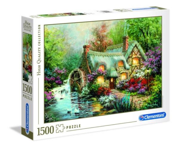 Clementoni 31812 Ländliche Zuflucht 1500 Teile Puzzle High Quality Collection