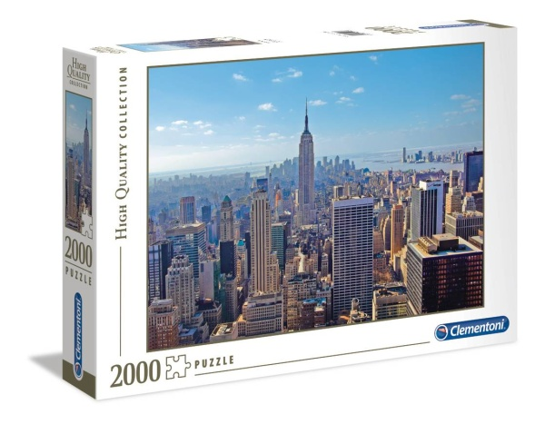 Clementoni 32544 New York 2000 Teile Puzzle High Quality Collection