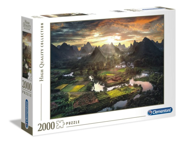 Clementoni 32564 Tal in China 2000 Teile Puzzle High Quality Collection