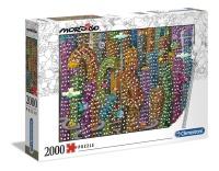 Clementoni 32565 Der Dschungel 2000 Teile Puzzle Mordillo...