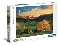 Clementoni 33545 Die Alpen 3000 Teile Puzzle High Quality...