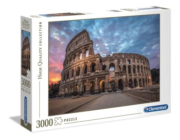 Clementoni 33548 Sonnenaufgang über dem Kolosseum 3000 Teile Puzzle High Quality Collection