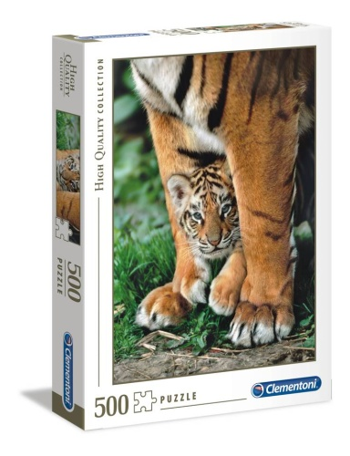 Clementoni 35046 Bengalisches Tigerbaby 500 Teile Puzzle High Quality Collection