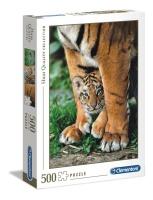 Clementoni 35046 Bengalisches Tigerbaby 500 Teile Puzzle...
