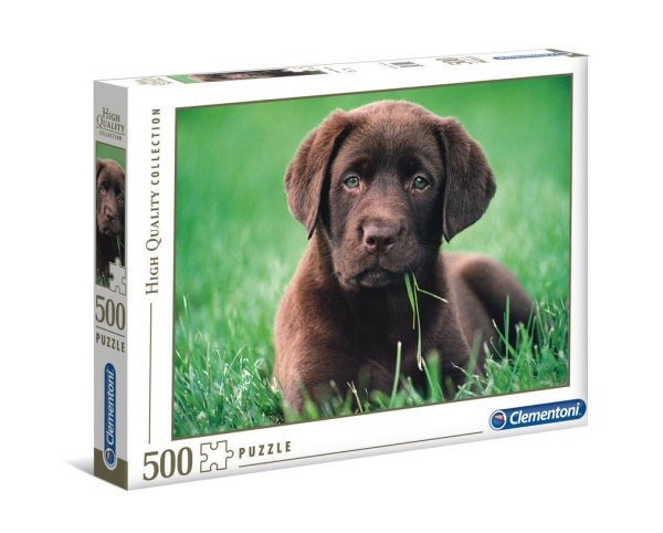 Clementoni 35072 Chocolate Puppy 500 Teile Puzzle High Quality Collection
