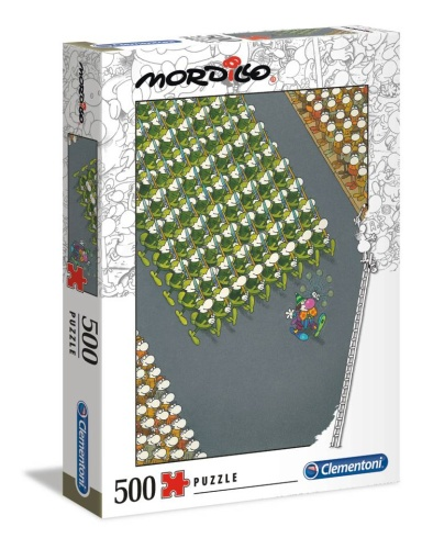 Clementoni 35078 Der Marsch 500 Teile Puzzle Mordillo Collection