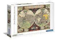 Clementoni 36526 Antike See-Karte 6000 Teile Puzzle High...