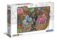 Clementoni 36527 Der Kuss 6000 Teile Puzzle Mordillo...