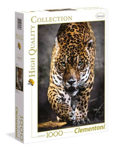 Clementoni 39326 Der Gang des Jaguar 1000 Teile Puzzle High Quality Collection