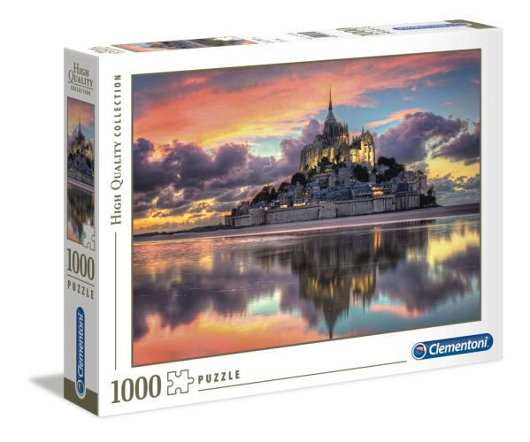 Clementoni 39367 Der wunderschöne Mont Saint-Michel 1000 Teile Puzzle High Quality Collection