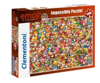 Clementoni 39388 Emoji 1000 Teile Impossible Puzzle