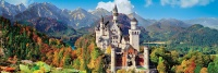 Clementoni 39438 Neuschwanstein 1000 Teile Puzzle High Quality Collection Panorama