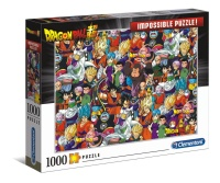Clementoni 39489 Dragon Ball 1000 Teile Impossible Puzzle