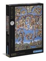 Clementoni 39497 Michelangelo - Das jüngste Gericht 1000 Teile Puzzle Museum Collection