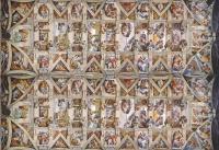 Clementoni 39498 Michelangelo - Decke der Sixtinischen Kapelle 1000 Teile Puzzle Museum Collection Panorama
