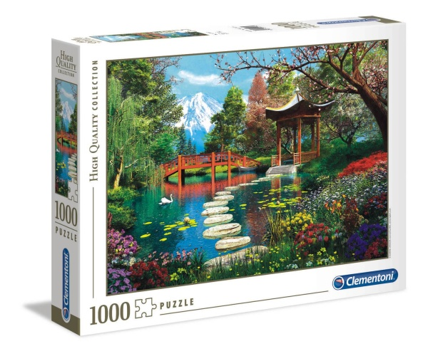 Clementoni 39513 Fuji Garten 1000 Teile Puzzle High Quality Collection