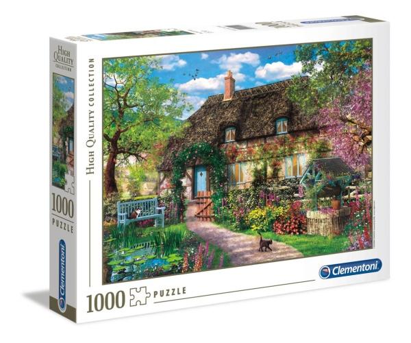 Clementoni 39520 Das alte Cottage 1000 Teile Puzzle High Quality Collection