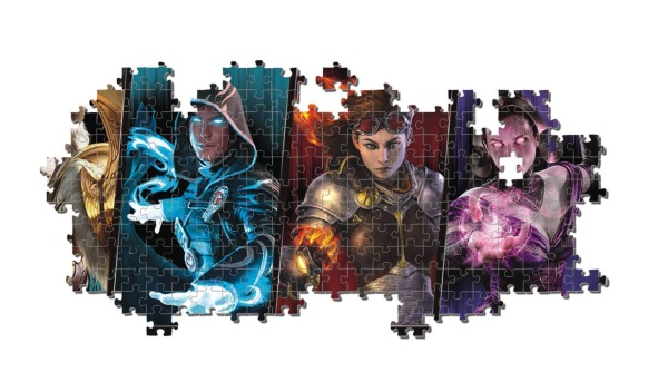 Clementoni 39565 Magic the Gathering 1000 Teile Puzzle Panorama
