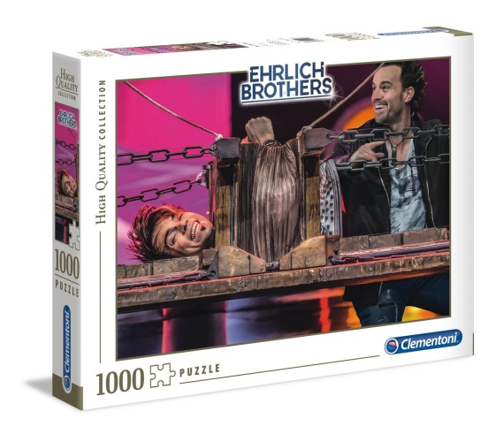 Clementoni 59177 Ehrlich Brothers 1000 Teile Puzzle