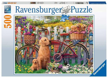 Ravensburger 15036 Ausflug ins Grüne 500 Teile Puzzle