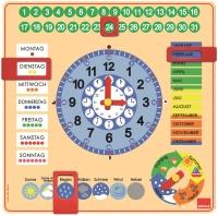 Jumbo 51309 GOULA - Kalenderuhr in Großformat