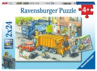 Ravensburger 05096 Müllabfuhr und Abschlepper 2x24...