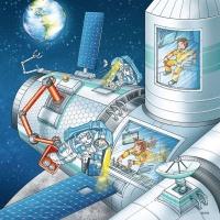 Ravensburger 05088 Auf Weltraummission mit Tom und Mia...