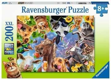 Ravensburger 12902 Lustige Bauernhoftiere 200 XXL Teile Puzzle