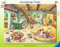 Ravensburger 05092 Bauernhofbewohner 12 Teile Rahmenpuzzle
