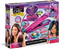 Clementoni 15225 Crazy Chic Farb-Hairstyler Haarkreide