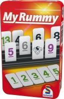 Schmidt 51281 MyRummy Bring-Mich-Mit-Spiel in Metalldose