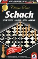 Schmidt 49082 Classic Line, Schach, mit extra...