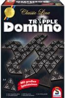 Schmidt 49287 Classic Line, Tripple Domino Familienspiel...