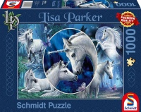 Schmidt 59668 Anmutige Einhörner Lisa Parker 1000 Teile Puzzle