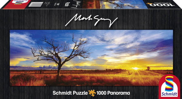 Schmidt 59287 Desert Oak at Sunset Northern Territory Australia Mark Gray 1000 Teile Panoramapuzzle