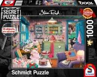 Schmidt Spiele 59653 Großmutters Stube Secret 1000 Teile Puzzle