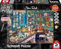 Schmidt 59656 Künstler-Atelier Secret 1000 Teile Puzzle