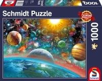 Schmidt 58176 Weltall 1000 Teile Puzzle