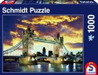 Schmidt 58181 Tower Bridge London Standard 1000 Teile Puzzle