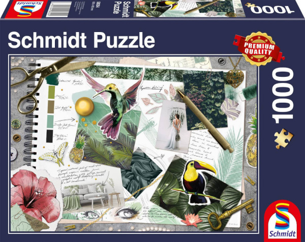 Schmidt Spiele 58354 Moodboard 1000 Teile Puzzle