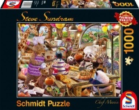 Schmidt 59663 Chef Mania Steve Sundram 1000 Teile Puzzle