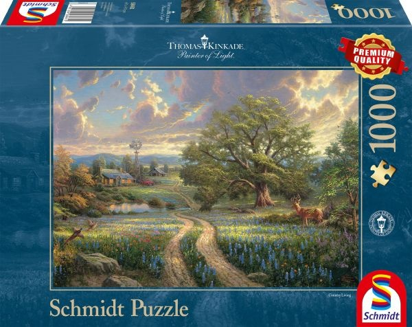 Schmidt Spiele 58461 Country Living Puzzle Thomas Kinkade 1000 Teile Puzzle