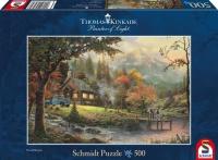 Schmidt 59467 Kinkade - Im Naturparadies 1000 Teile Puzzle