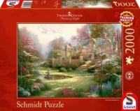 Schmidt 57453 Landsitz Thomas Kinkade 2000 Teile Puzzle