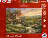 Schmidt Spiele 59629 In den Weinbergen Puzzle Thomas...