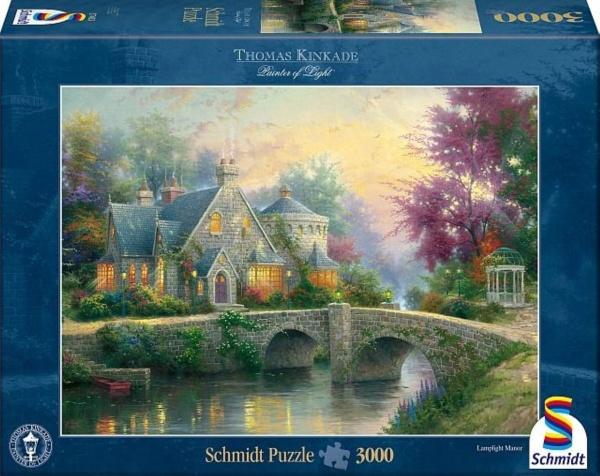 Schmidt 57463 Abendstimmung Thomas Kinkade 3000 Teile Puzzle