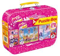 Schmidt 56510 Mia & Me Puzzle-Box 2x60 2x100 Teile...
