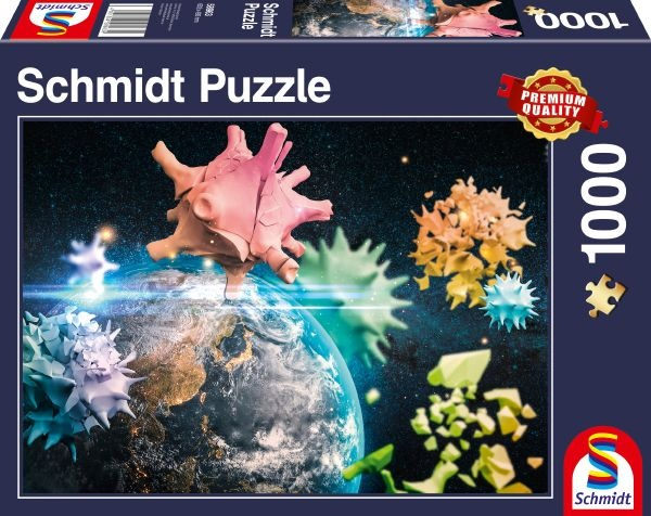 Schmidt 58963 Planet Erde 2020 - 1000 Teile Puzzle