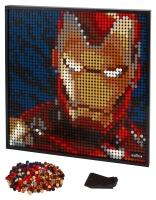 LEGO® 31199 ART Marvel Studios Iron Man Kunstbild